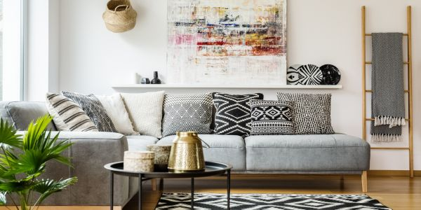 Cosy Lounge room hygge inspired