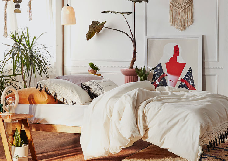 relaxed bed space